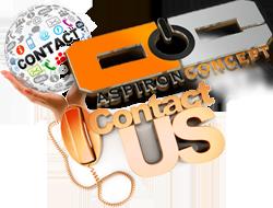 contactUS-AspironConcetp.com